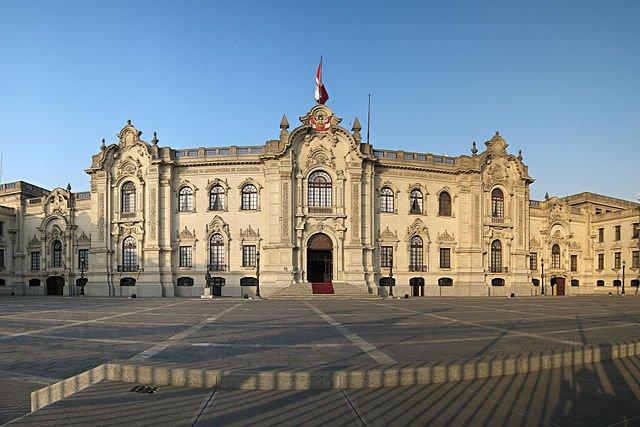 Casa de gobierno Perú