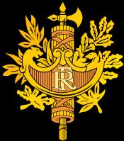 Escudo nacional de Francia