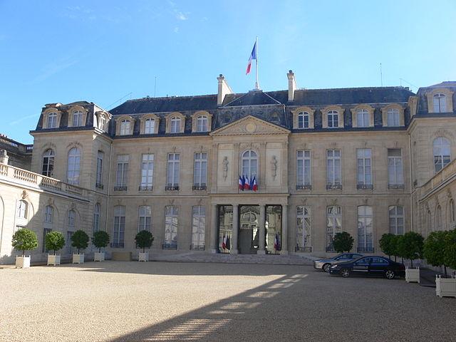 Palacio de Elíseo, Francia