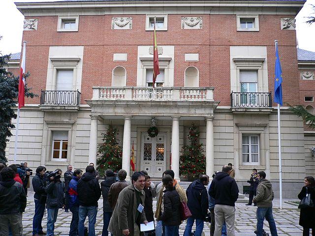 Palacio de la Moncloa España