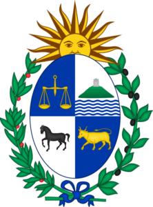 Escudo de armas de la República oriental del Uruguay