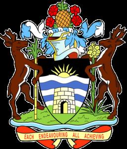 Escudo nacional de Antigua y Barbuda