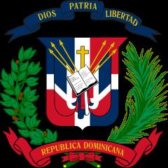Escudo nacional de República dominicana