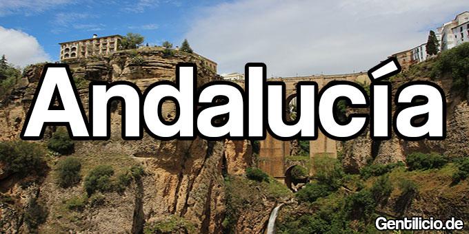 Andalucía, Comunidad autónoma de España