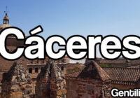 Cáceres, Provincia española